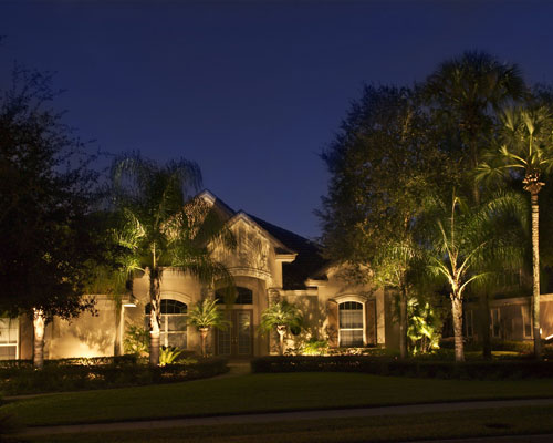 Outdoor Landscape Lighting Professional : Professional landscape lighting design in lake mary fl