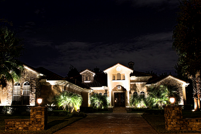 Landscape Lighting Daytona Beach Florida