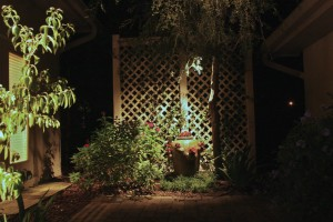 Garden Lighting in Winter Park, FL