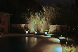 Pool lighting in Orlando, FL