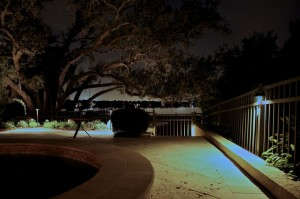 Outdoor Pool Area Lighting