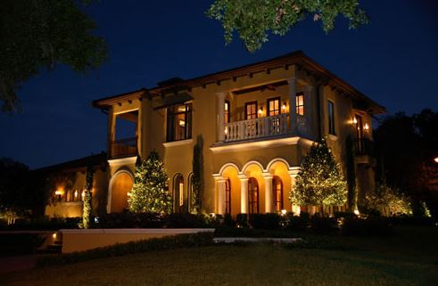 LED Landscape lighting in Daytona Beach, FL