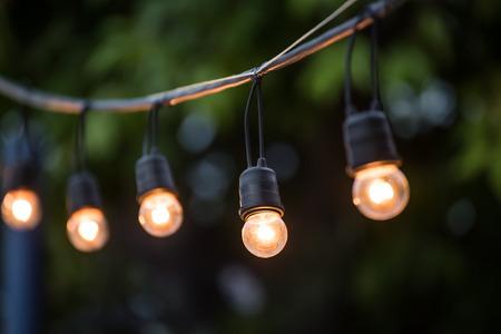 Warm Outdoor Lighting