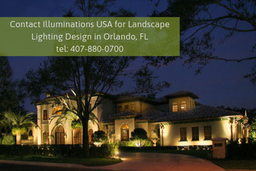 Landscape Lighting Design in Orlando, FL