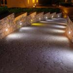 Path Lighting at Night